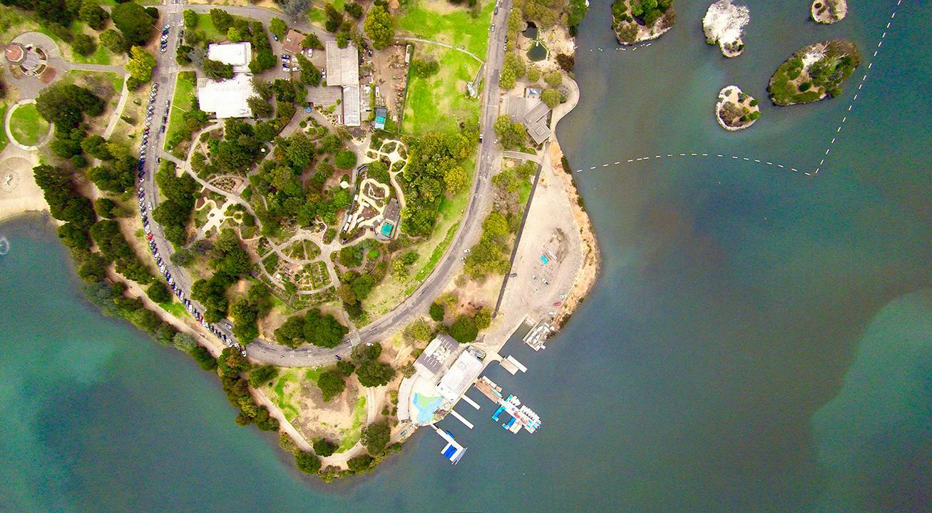 Lake Merrit - Aerial Construction Videos